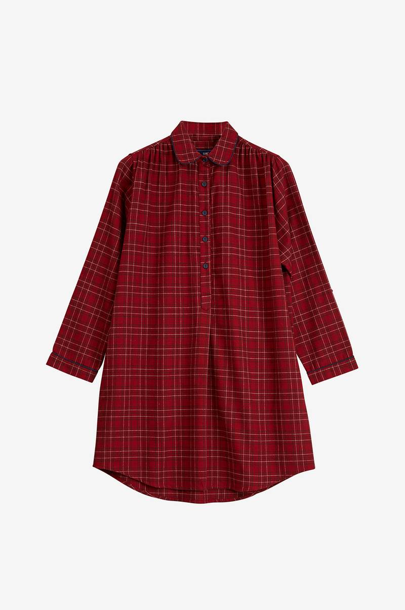 Nattlinne Womens Checked Flannel