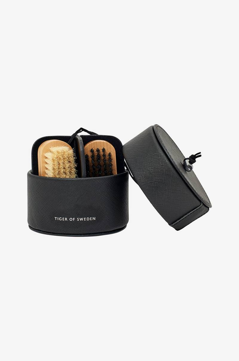 Skopleiesett Shoe Shine Travel Kit