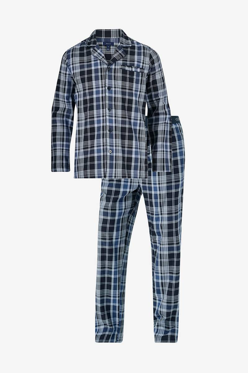 Pyjamas Blue Check