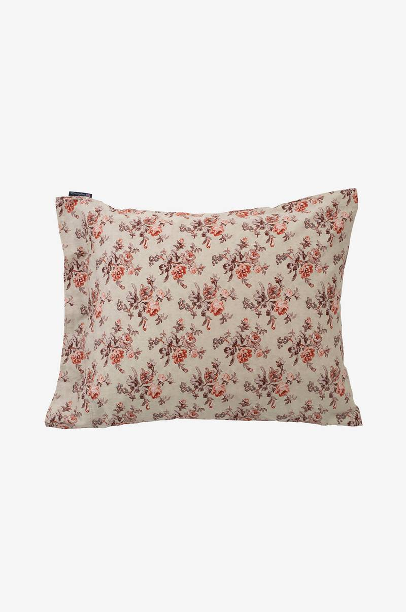 Pudebetræk Printed Floral Sateen Pillowcase