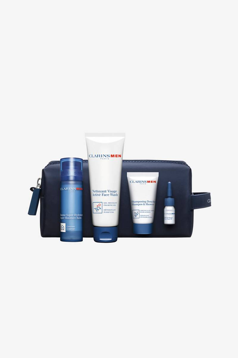 Gaveeske Clarins Men Holiday Collection