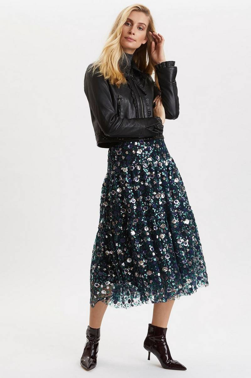 Pailletnederdel Sequins & Sunshine Skirt