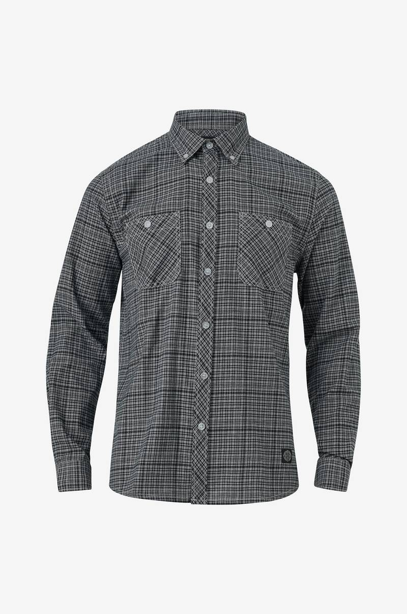 Rutig skjorta med button down-krage