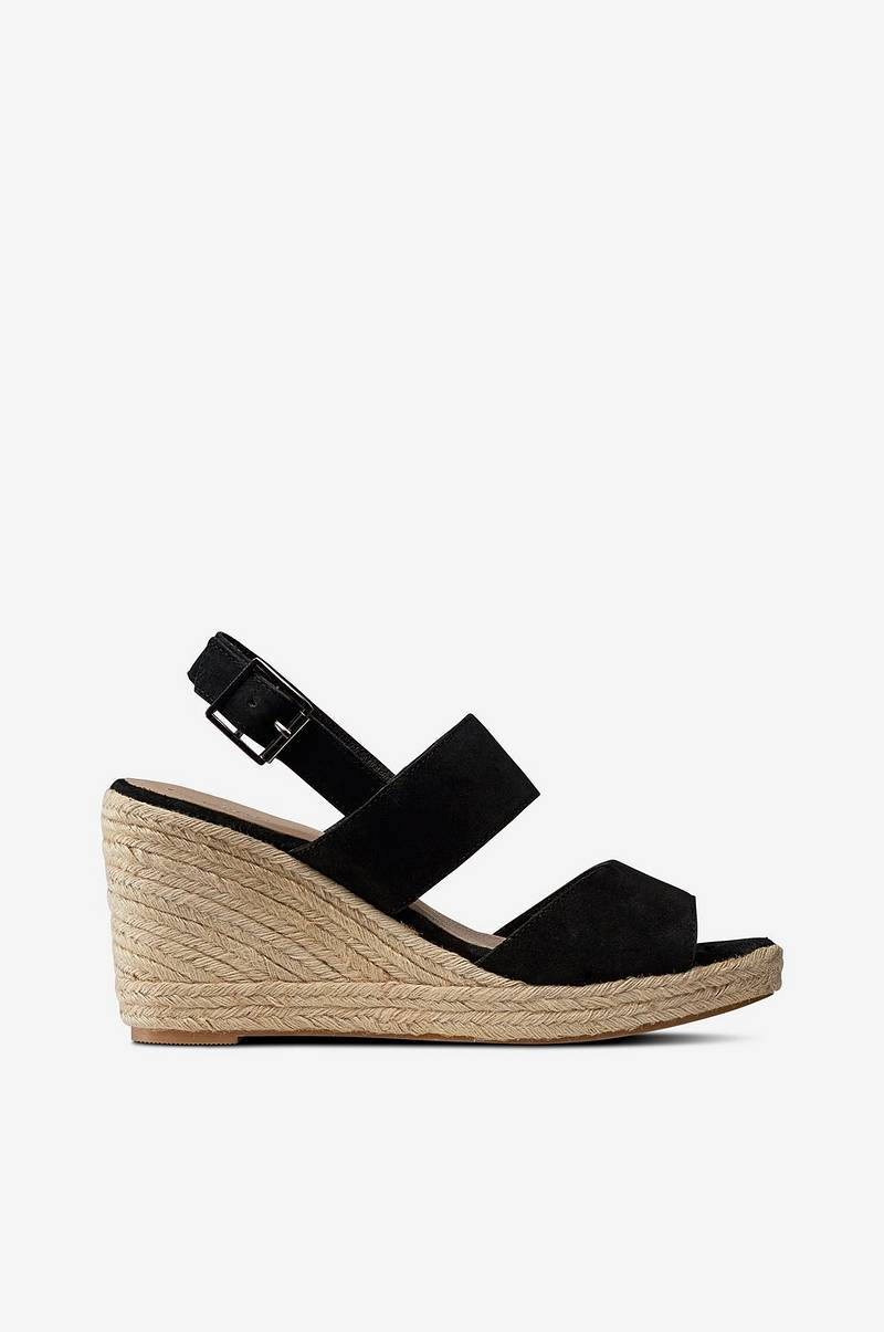 Wedge Suede sandaletit