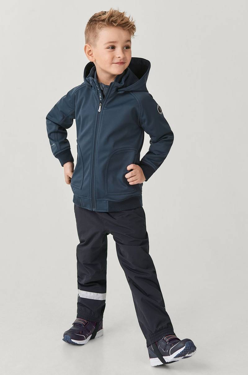Softshelljacka Jacket MR med insida i fleece