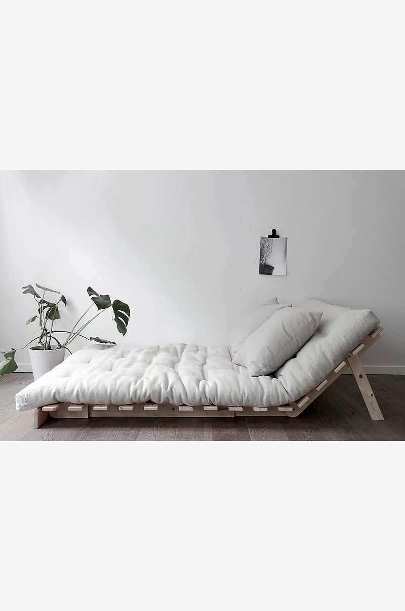 Sovesofa Roots 140 Sort bund