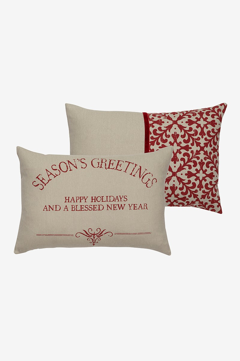 SEASON GREETINGS kuddfodral 2-pack 50x30 cm