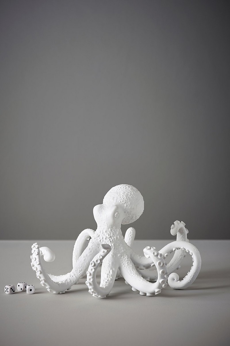 OCTOPUS dekorationsfigur