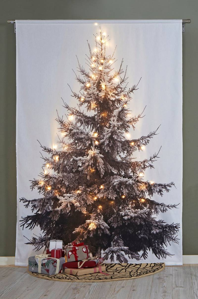 CHRISTMAS TREE veggpanel