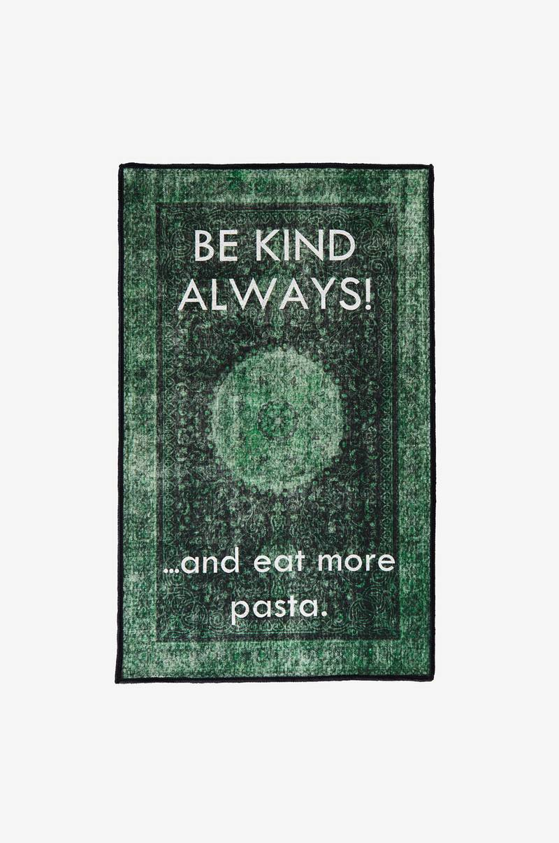 BE KIND bomullsmatta