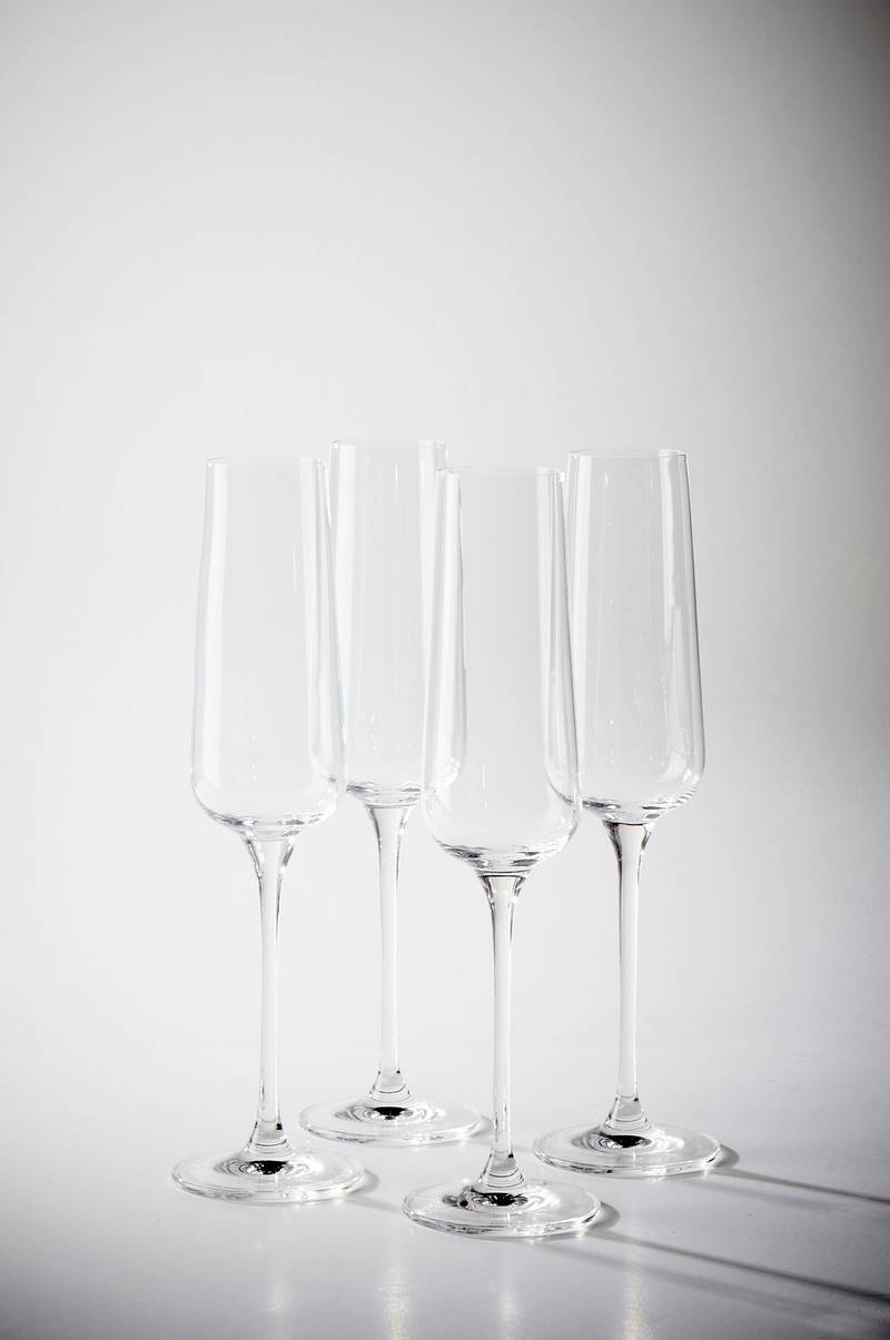 CHABLISS champagneglas 4-pack