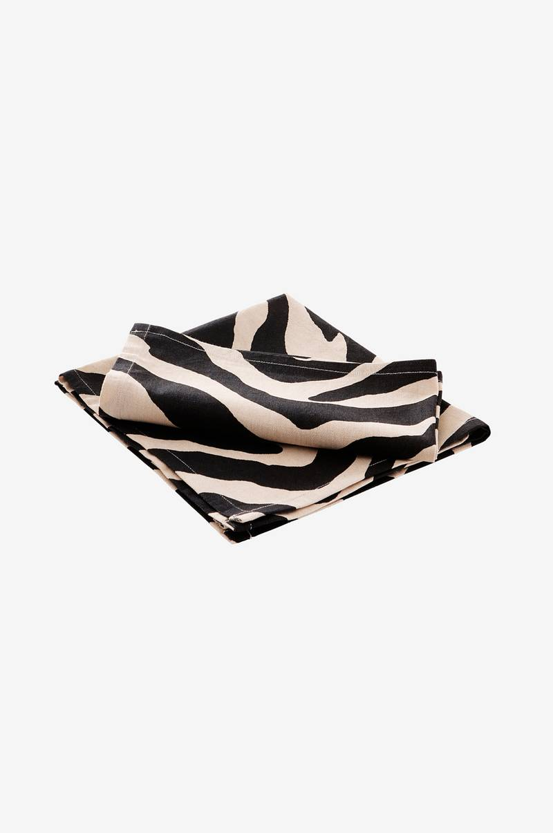 ANIMALS ZEBRA servett 2-pack