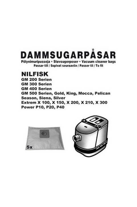 Dammpåsar Nilfisk 5st,1st Fil (1432CH)