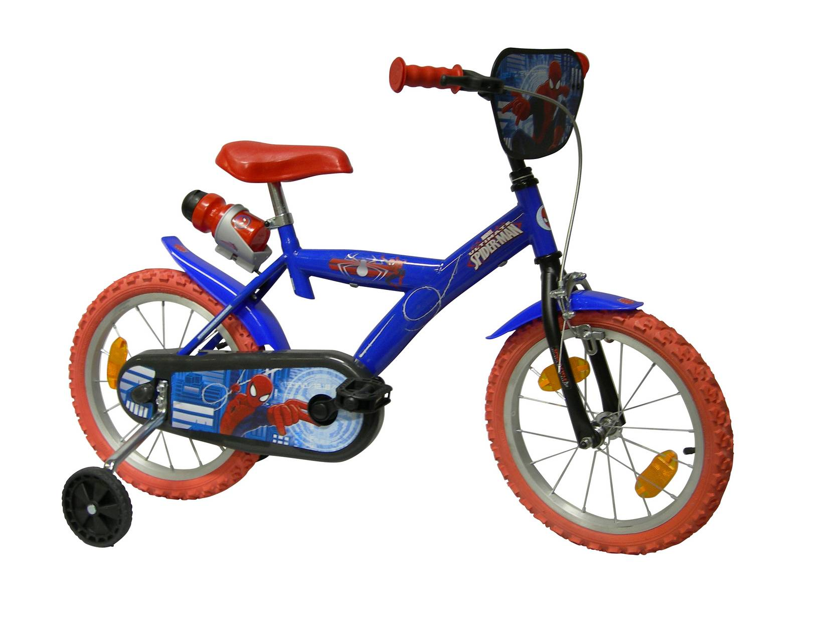 "Spider-Man-lastenpyörä 16"""