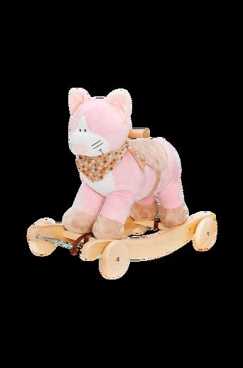 Ääntävä Teddykompaniet-kissakeinu