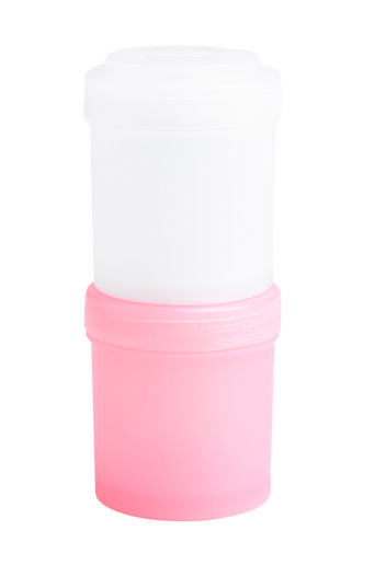 HeroStorage-säilytysastiat, 2/pakk. roosa & valkoinen, 100 ml