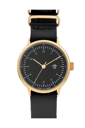Harold Mini -kello Gold/Black
