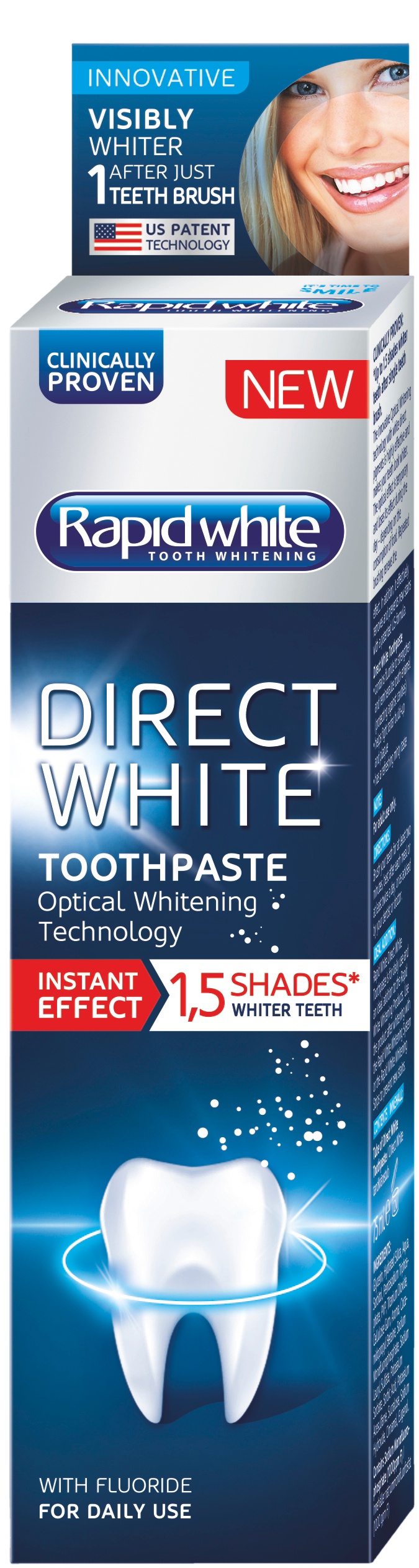 Direct White Toothpaste 75 ml
