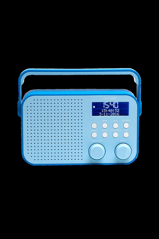 DAB+ & FM-radio Blå Denver CD & radio til Boligen i