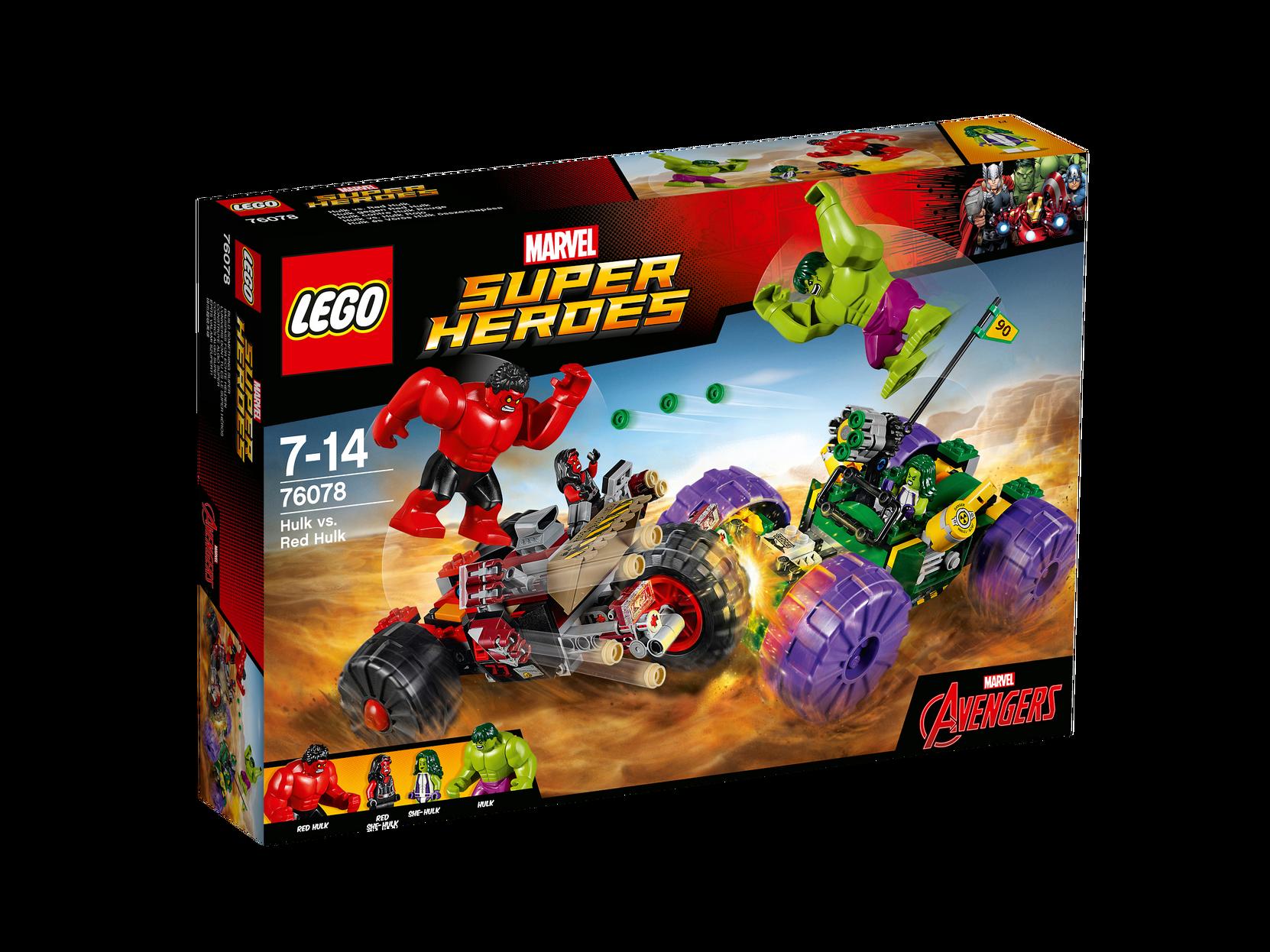Hulk Mod Red Hulk 76078 LEGO Lego til Børn i 76078