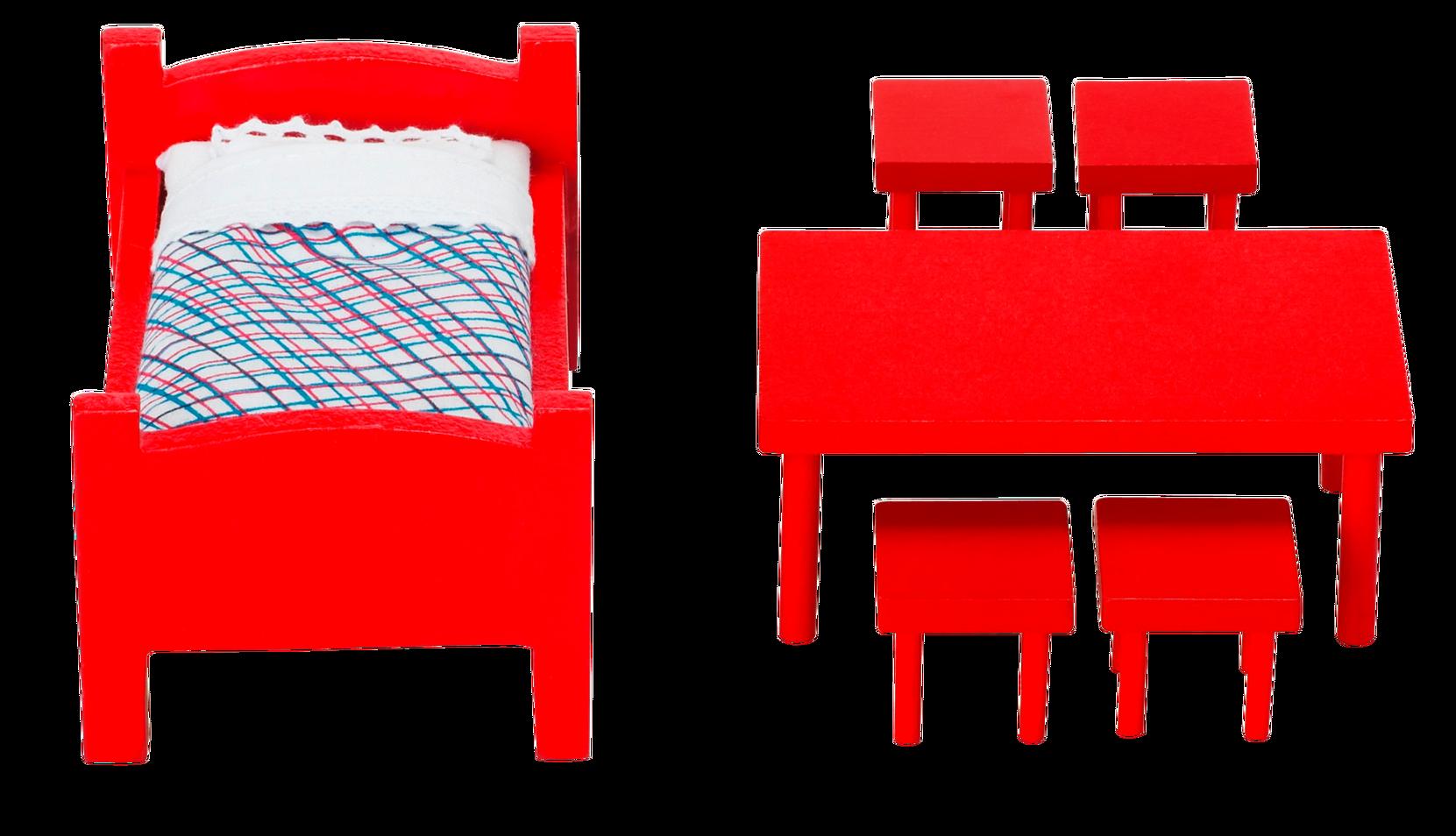 Huvikummun huonekalut
