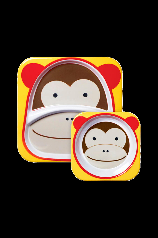 Zoo -lautanen, apina