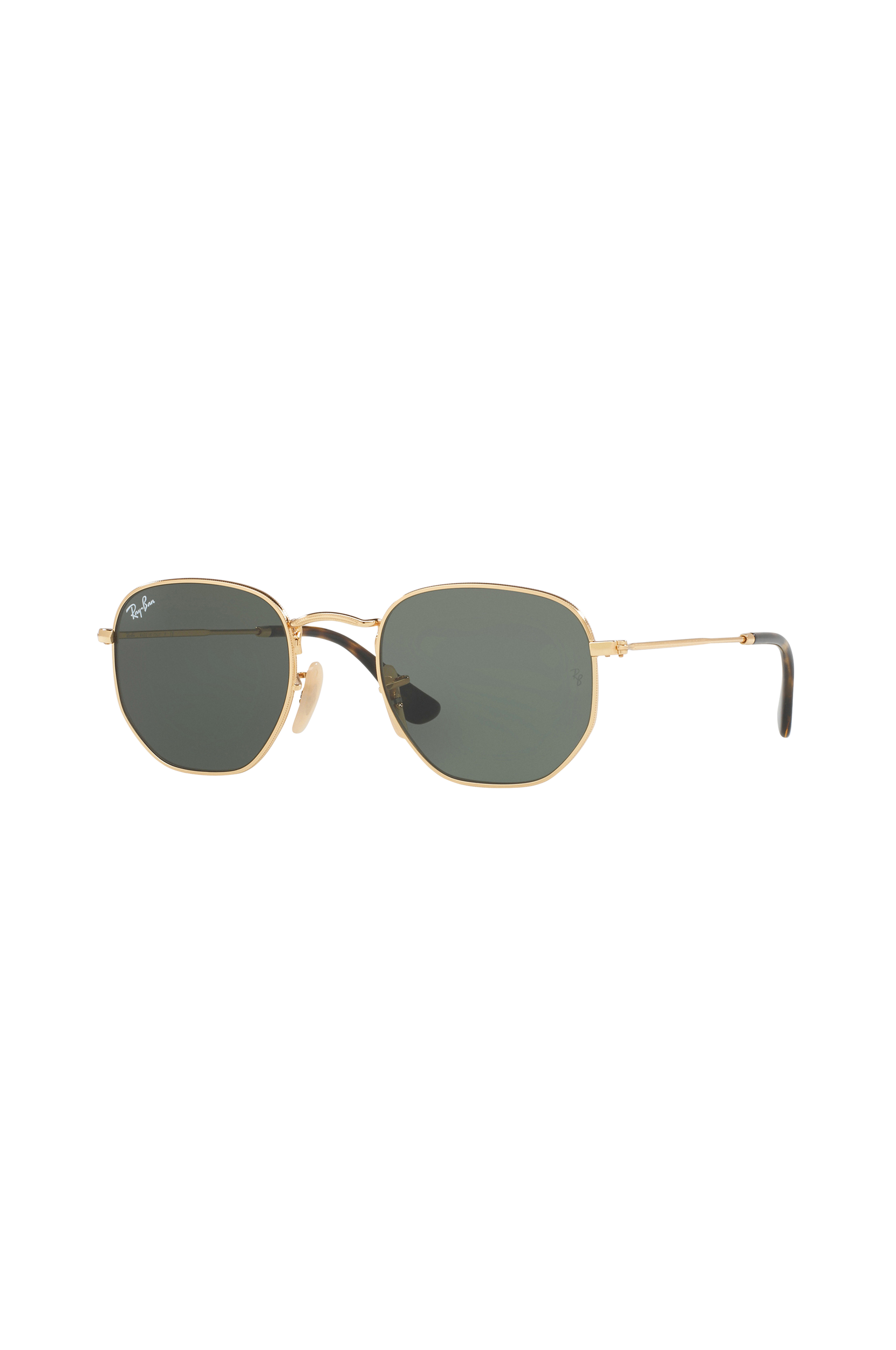Solbriller Hexagonal Rn3548n Gold Ray Ban Accessories til Kvinder i