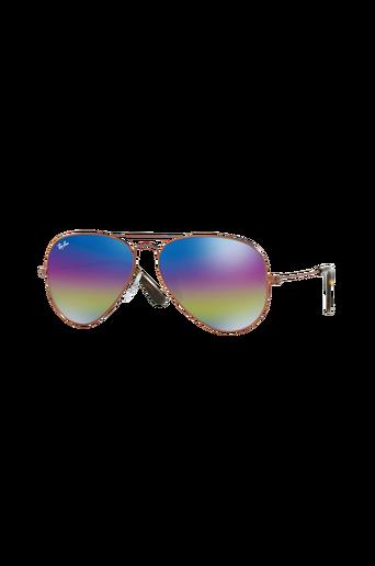 Aviator Rb3025 -aurinkolasit, Gold