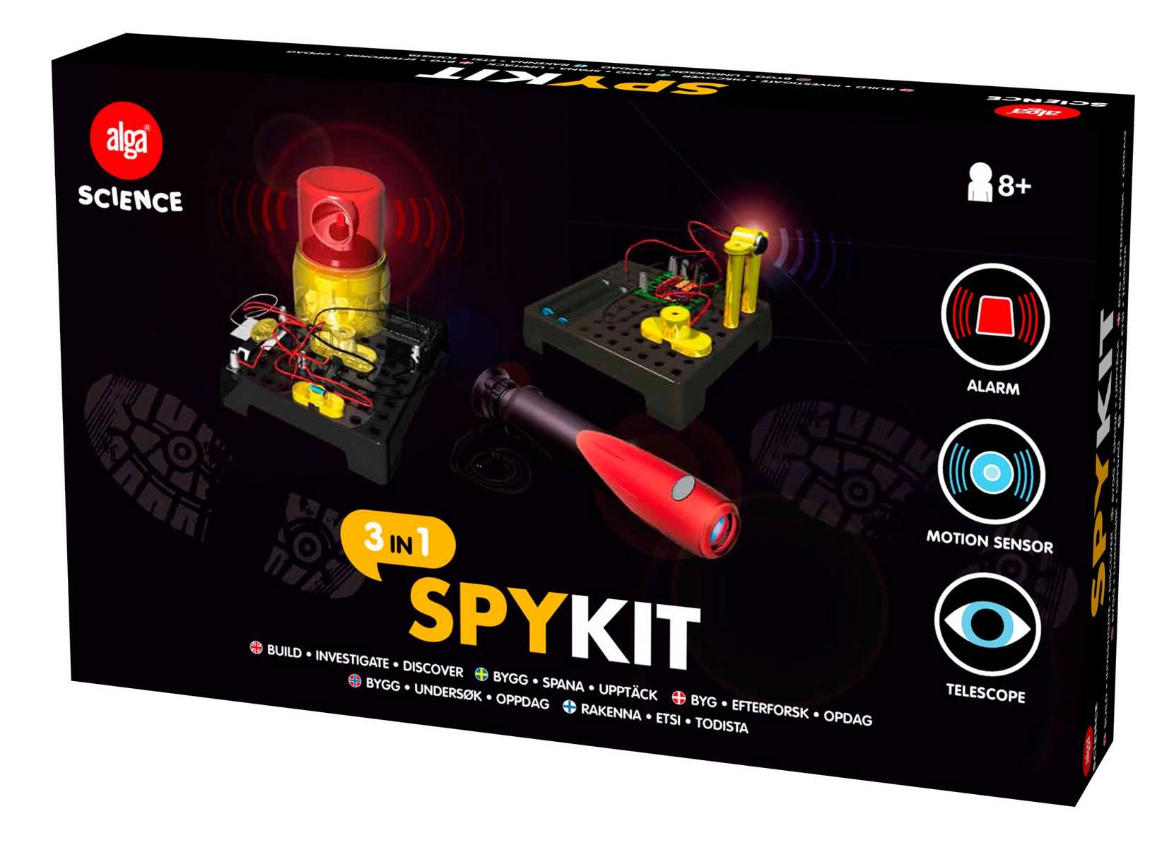Spy kit 3 in 1