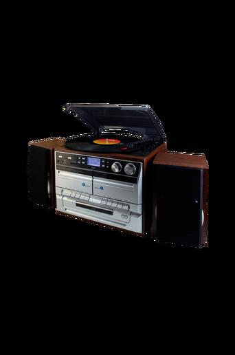 Klassinen stereolaite, jossa CD/LP/Tape MCD5500DBR