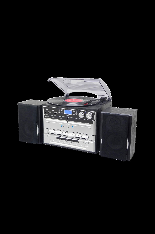 Klassinen stereolaite, jossa CD/LP/kasetti MCD5500SW