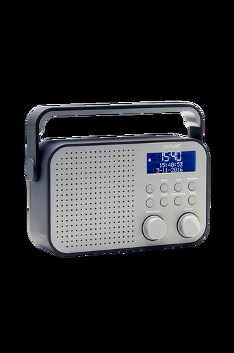 DAB+ & FM-radio, harmaa