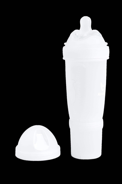 HeroBottle-tuttipullo, valkoinen 240 ml