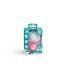 HeroPacifier-tutit, 2/pakk. roosa & valkoinen, yli 6 kk:n ikäisille