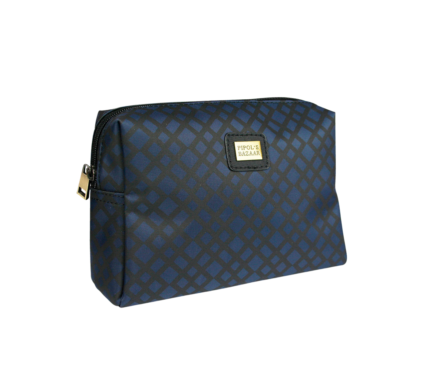 Crocetta Small Cosmetic Bag Dark Blue