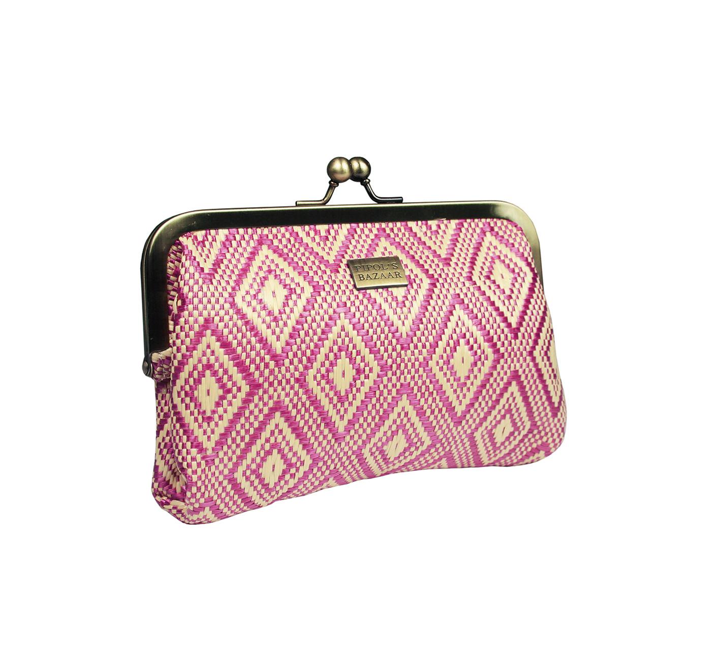 Fiesta Clutch Lima Bag Pink