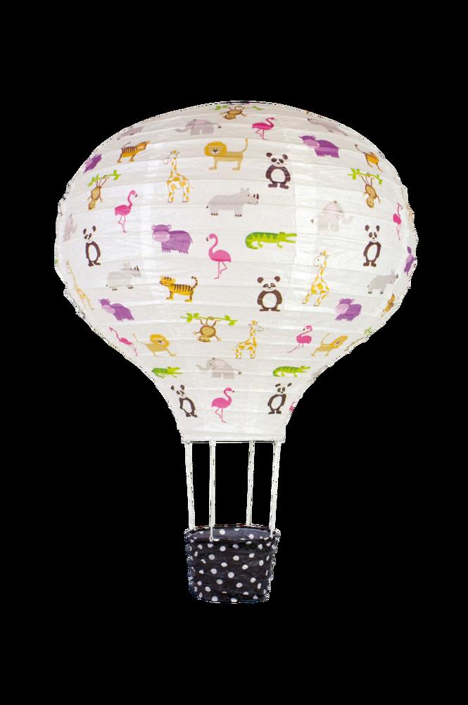 Rislampa Luftballong Safari
