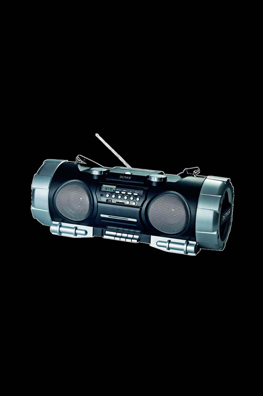 Boombox Radio/CD/USB/kasetti (TCS86BLACK)