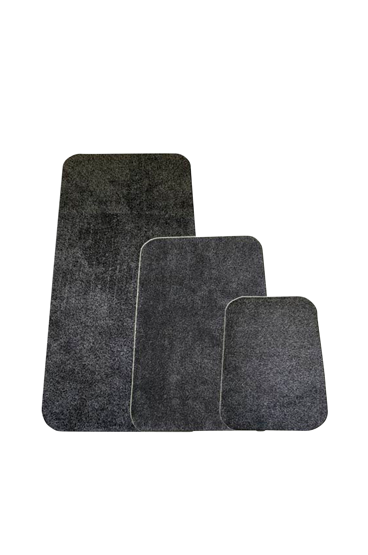 Devlon-matto 75x100 cm, harmaa