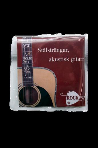 Akustisen kitaran teräskielet