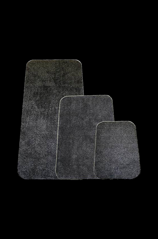 Devlon-matto 75x50 cm Harmaa
