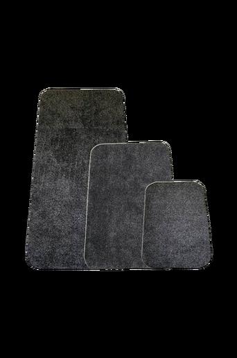 Devlon-matto 75x150 cm Harmaa