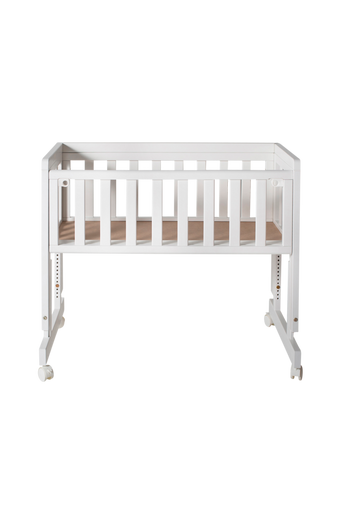 Bedside Crib Two, valkoinen