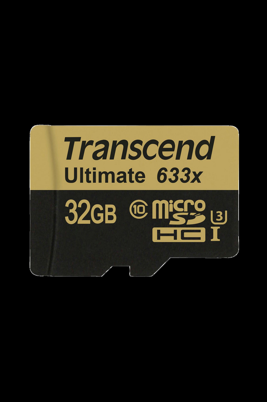 MicroSDHC 32 Gt CL10 U3 633x