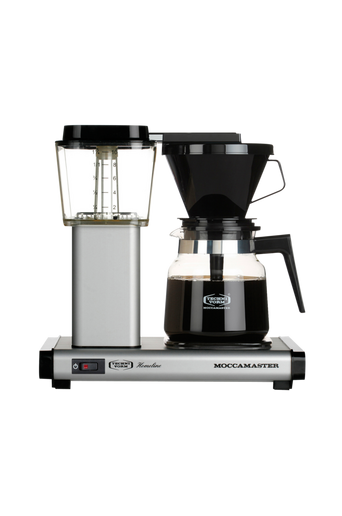 H931AO Matt Silver -kahvinkeitin