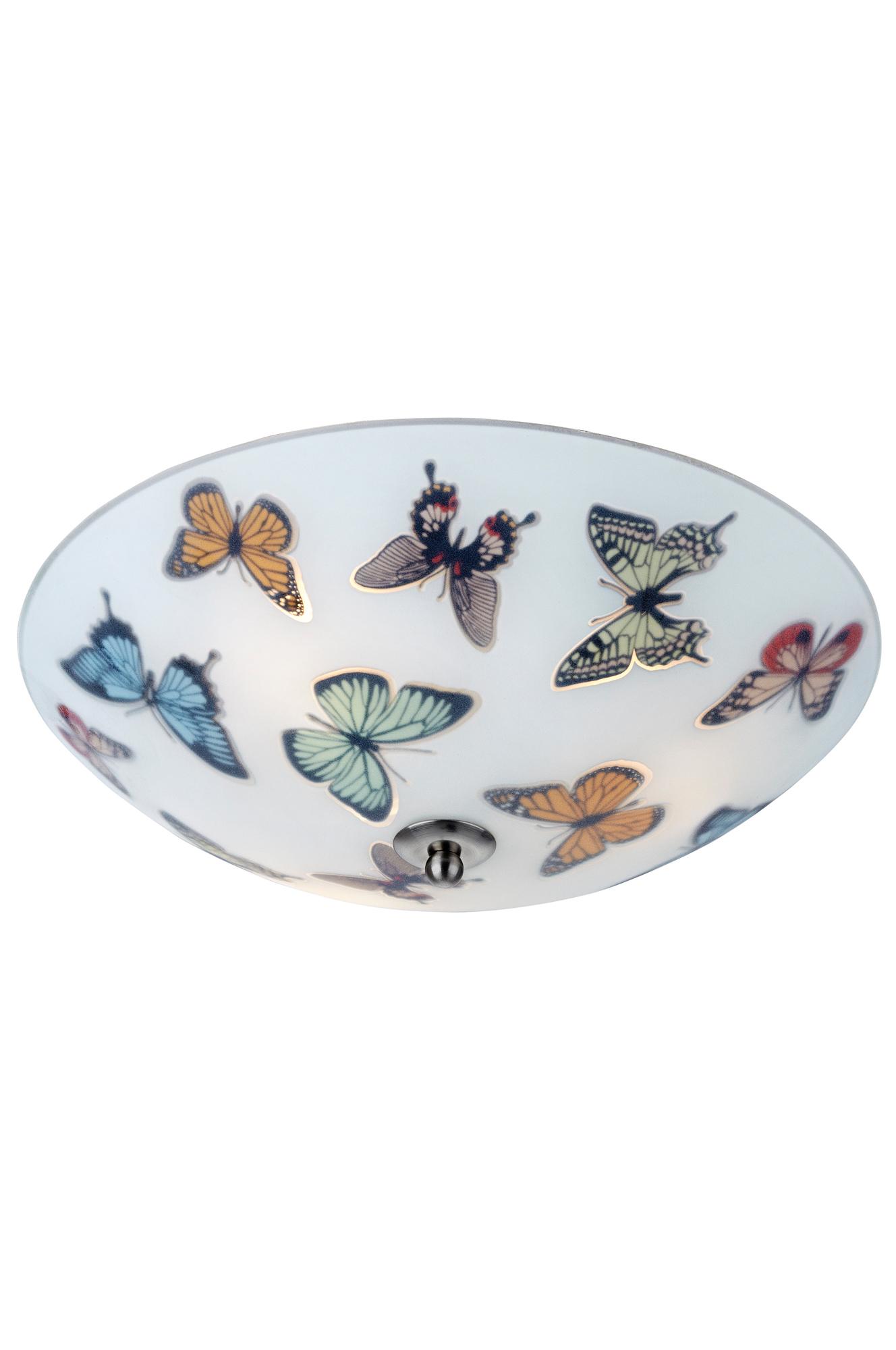 Butterfly-plafondi 35 cm