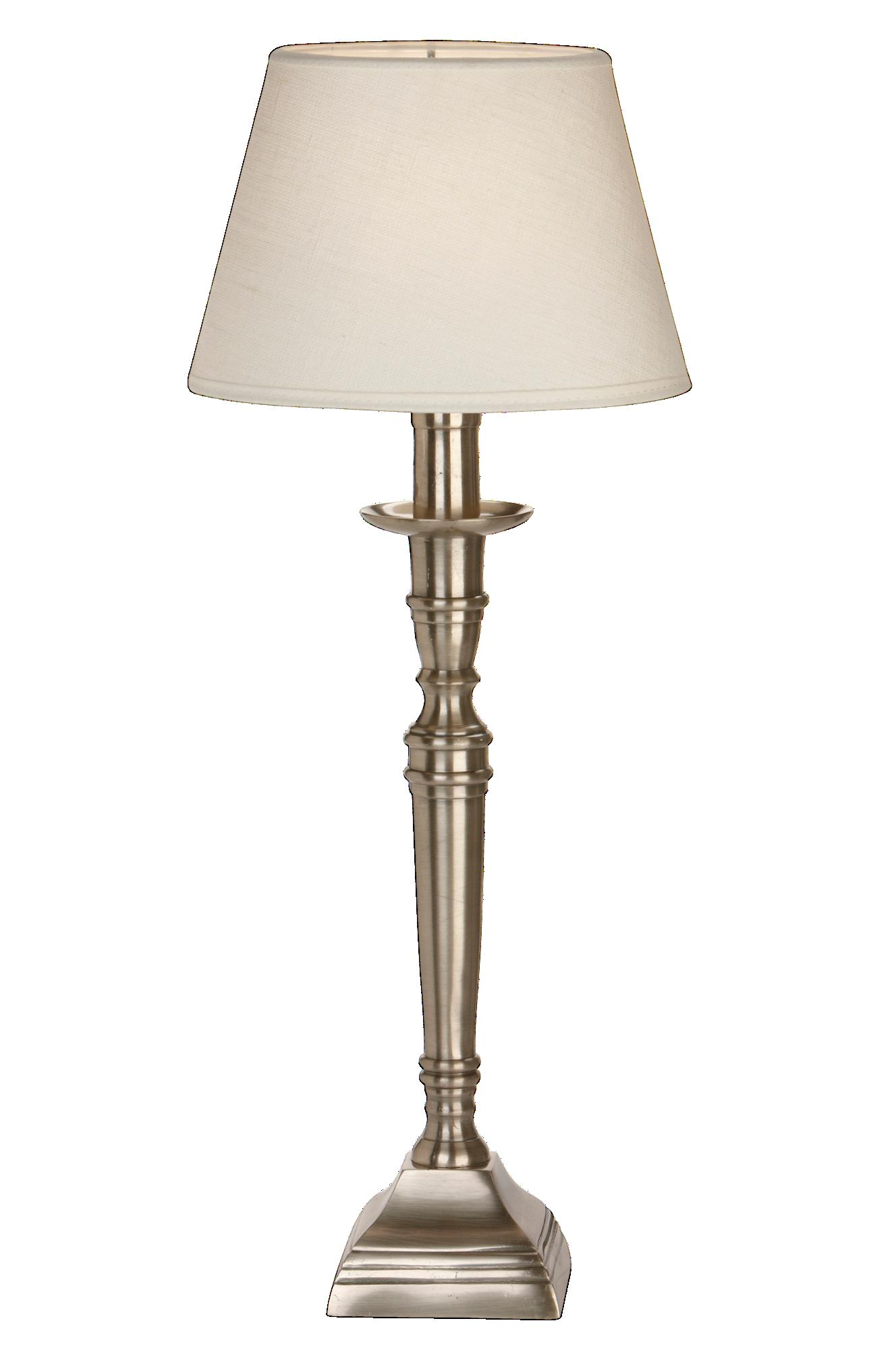 Salong Vit 53Cm Lampfot