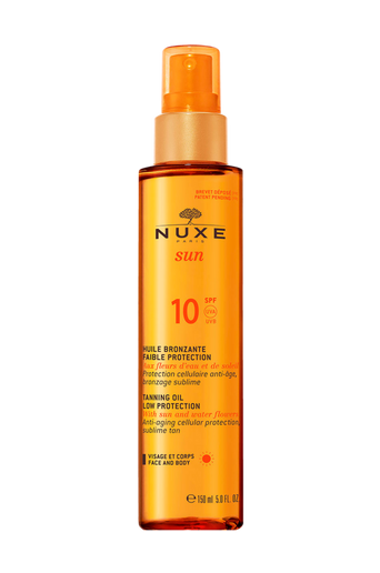 Tanning Oil For Face And Body SPF10