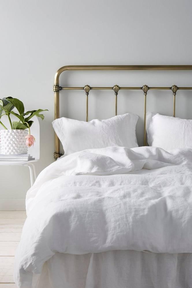 Sänggavel Industriell 180 cm