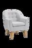 Nojatuoli, harmaa